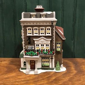"Department 56 ""Crown & Cricket Inn"" 1st. Ed. 1992"